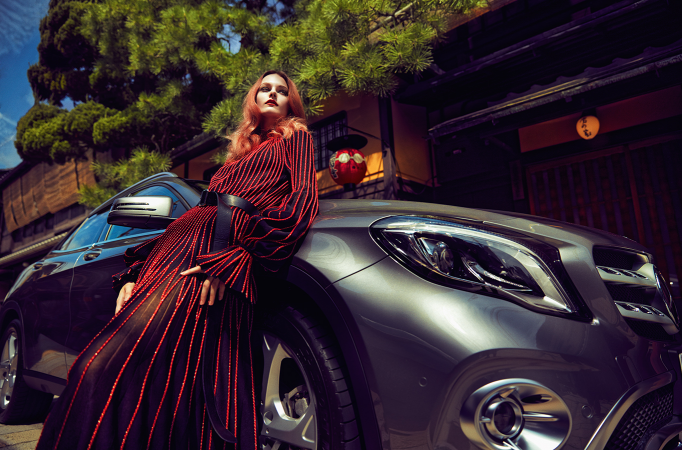 VOGUE JAPAN× mercedes-benz 2